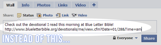this service will work for any page on the blue letter bible website