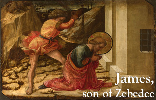 james-son-of-zebedee - When and how did the Twelve Apostles die? - Bible Study