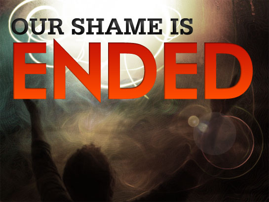 """Our shame is ended!"" —Charles Spurgeon"