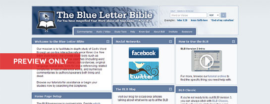 blue letter bible home page special announcement blb version 3 0 coming 2012 20653 | 122611 v3preview1