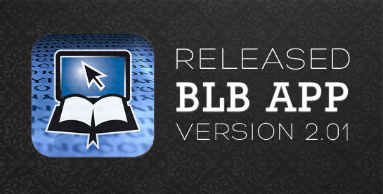 We have released the latest update for the Blue Letter Bible app ...