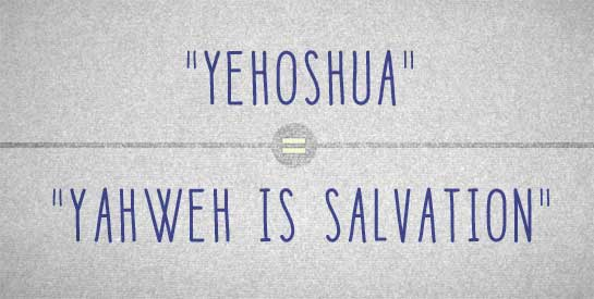Yahweh Is Salvation
