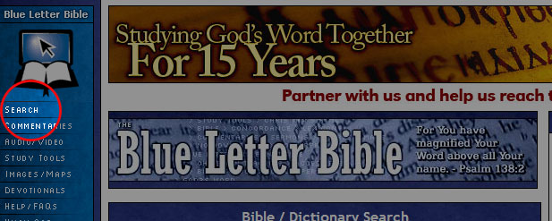 blue letter bible home page blb how to view verses from different passages 20653