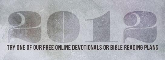 blb devotionals and bible reading plans
