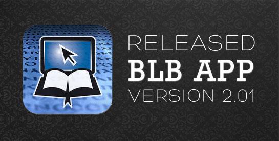 the blb ios app v201